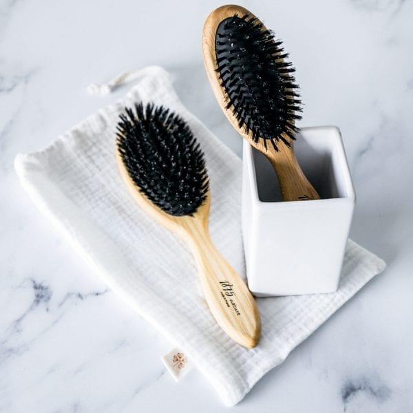 Brosse à cheveux démélante écoresponsable