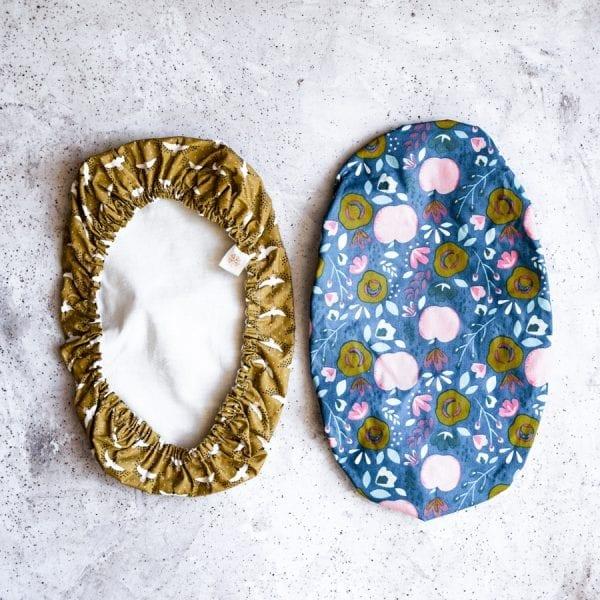 Charlottes à plat à gratin en tissu enduit et coton