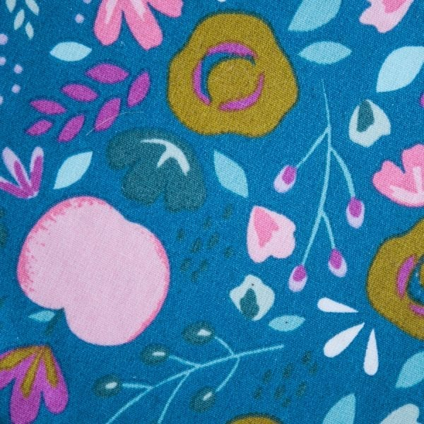 Charlottes à plat en tissu enduit et coton