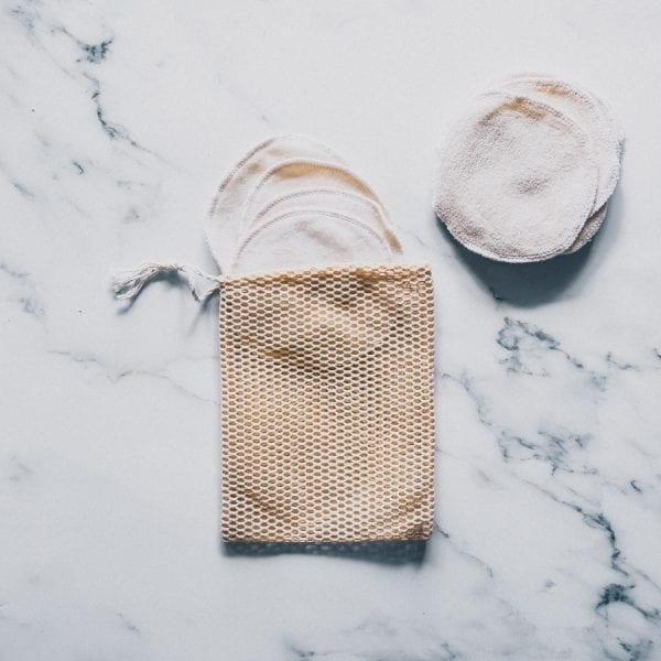 Filet de lavage en coton