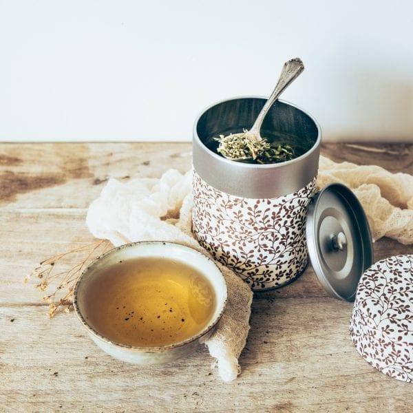 Boîte à thé écoresponsable
