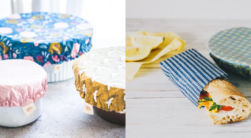 Charlotte à plat ou bee wrap ? Comment remplacer le film alimentaire étirable ?